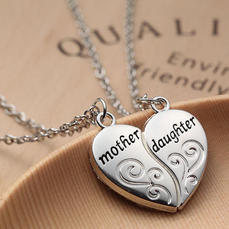 HTB1RLo.JFXXXXbbXpXXq6xXFXXXS - Mother & Daughter Heart Design Pendants