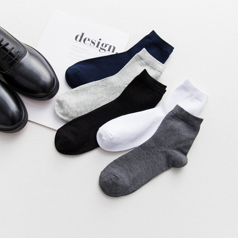 HTB1RLo9kwnH8KJjSspcq6z3QFXap - Men's Socks Men Fashion Dress Mens Socks Cotton