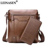LEINASEN Brand 2018 Casual Men Messenger Bags Crossbody Bags Men S Shoulder Bag Hot Selling High