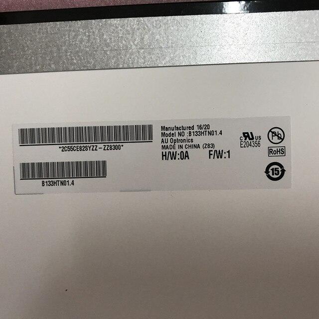 """Lcd 디스플레이 b133htn01.4 asus ux310u 노트북 용 매트릭스 13.3 """"1920x1080 fhd 무광택 디스플레이 화면"""