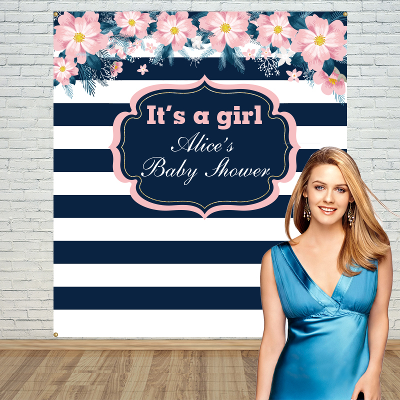 ФОТО Allenjoy Background Photography customized Holiness baby shower backdrop birthday party Banner photography backdrop
