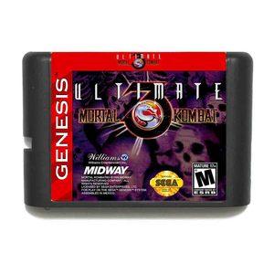Image 1 - Ultimate Mortal Kombat 3 16 Bit Sega Md Game Card Voor Sega Mega Drive Voor Genesis