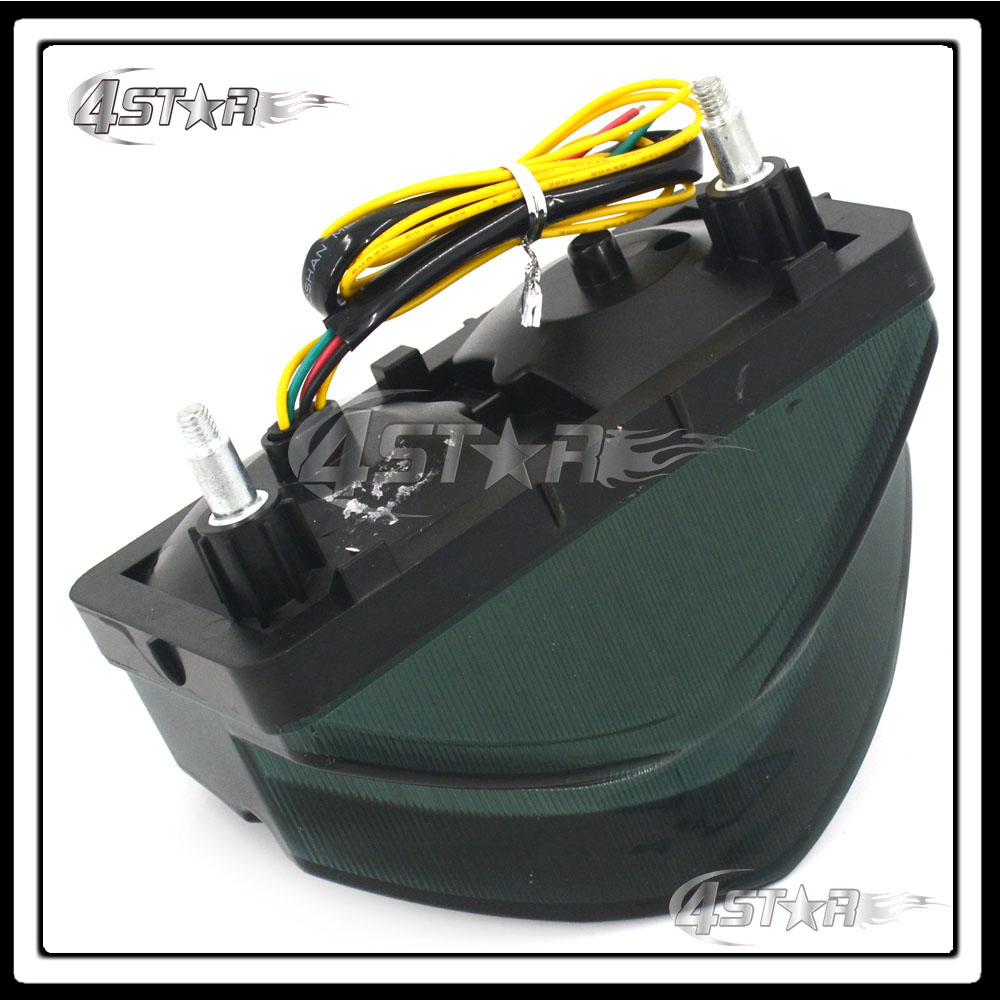 Somke LED Rear Turn Signal Tail Stop Light Lamp Integrated Brake Light For CBR 600 F4i CBR600 F4I 2001 2002 2003 Free Shipping