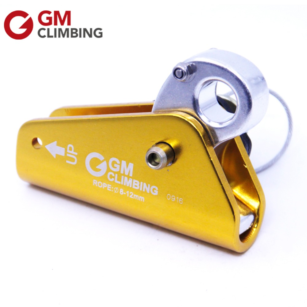 GM Climbing Rope Grab Aluminum With Eye Outdoor Rocking Tree Climbing Mountaineering Rappelling Caving Rescue Equipment xinda outdoor professional climbing mountaineering rock caving rescue safety belt polyester bust harness rappelling safety belt