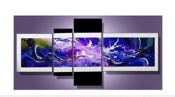 ¡Envío gratis! Cuadro moderno al óleo sobre lienzo hecho a mano, envío gratis a todo el mundo