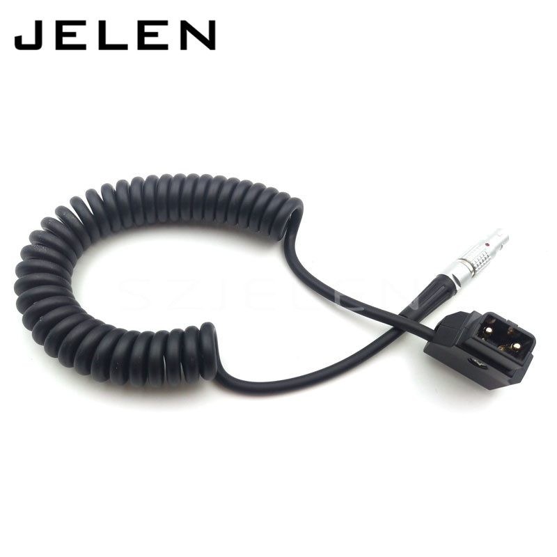 D-TAP to 0B 2 pin plug Power Adapter Cable for Teradek Bond d1406 2sd1406 to 220f