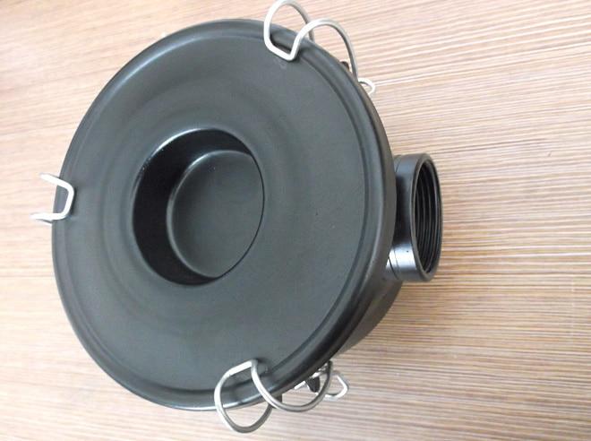 vacuum pump inlet filters F004   Rc1 1/4 industrial vacuum pump intake filter in housing 2 rc inlet