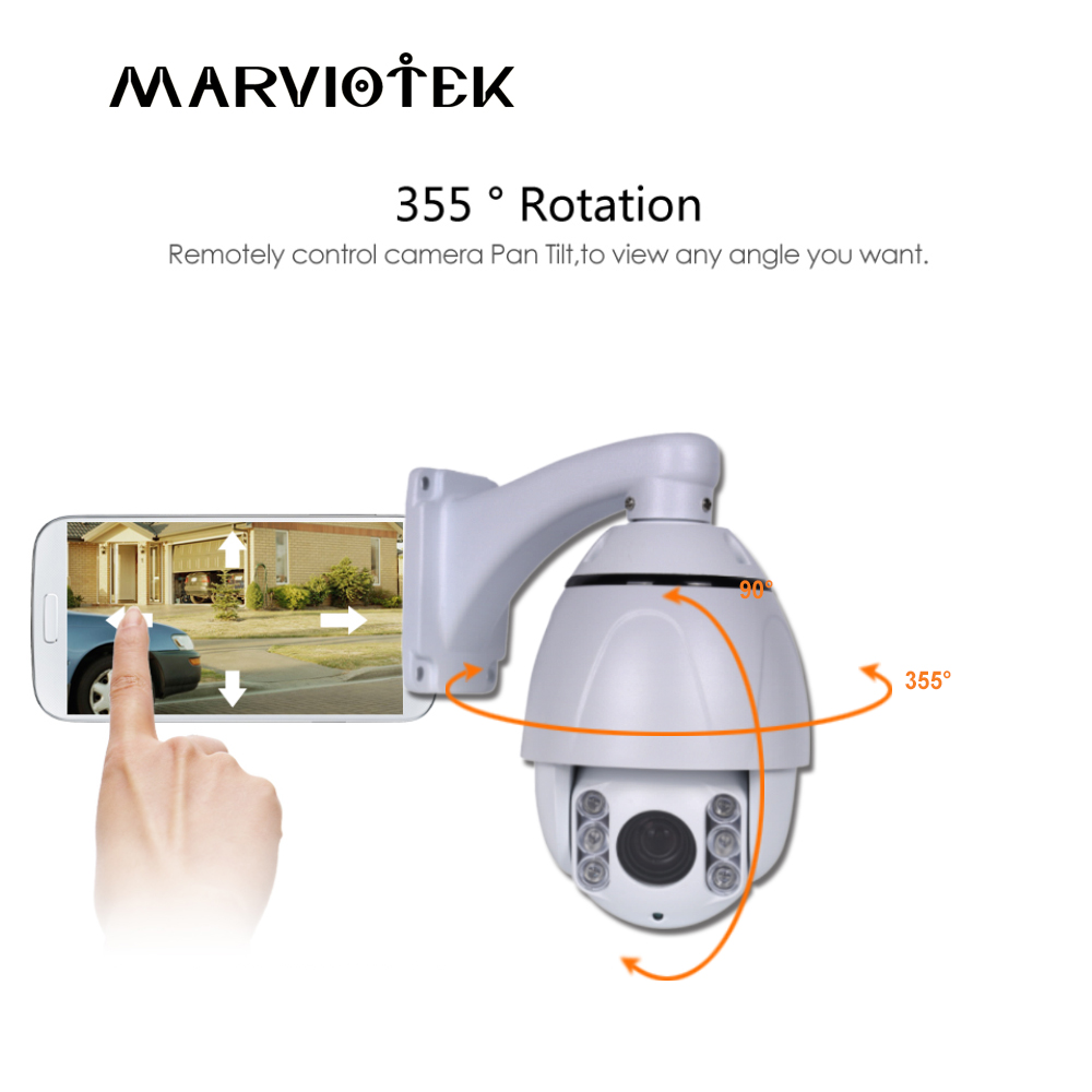 CCTV Camera 4X Zoom Camera High Mid Mini Speed Dome Camera Network Video Surveillance Security Camera