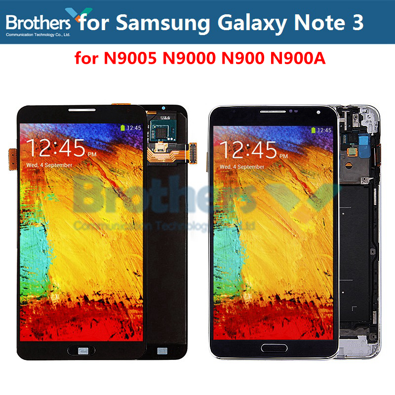 OLED For Samsung Galaxy Note 3 N900 <font><b>LCD</b></font> Screen Display for Samsung N9005 <font><b>N9000</b></font> N900 N900A <font><b>LCD</b></font> Assembly Touch Screen Digitizer image