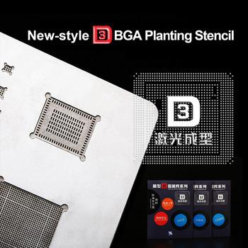 Kaisi 3D IC Chip BGA Reballing wzornik zestaw A8 A9 A10 A11 wzornik tin plate narzędzi ręcznych dla iPhone 6 plus 7G X 8G 8 serii P tanie i dobre opinie NoEnName_Null Elektryczne BGA Reballing Stencil Połączenie Other Zestaw narzędzi do komputera 3D BGA Reball Stenci Plant tin net