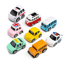 8pcs/Set Small Model Mini Car Toys Kids Alloy Car Toy Pull Back Diecasts Toy for Boys Brinquedos Boy Birthday Gift high simulation 2pcs 4pcs 8pcs 24pcs set alloy pull back model car mini alloy pull back toy car parent child toy for boys gift