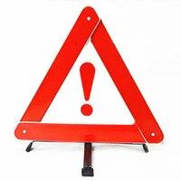 Tripé carro Perigo Estacionamento Reflective Aviso de Falha de Sinal Tripé Folding Car Acessórios Sinal de Perigo de Quebra de Emergência|Kit de resgate de emergência p/ carros| |  -