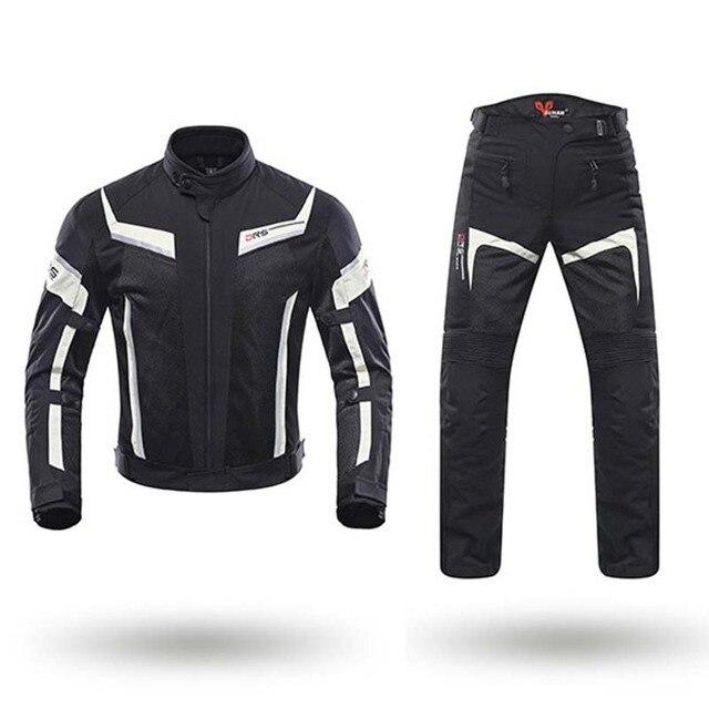 2e3bf26066499 DUHAN chaqueta deportiva de la motocicleta protector de chaquetas CE  almohadillas Moto pantalones de los hombres