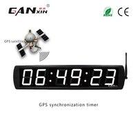 [Ganxin]GPS synchronizing clock 4 wall clock for living room led clock gps