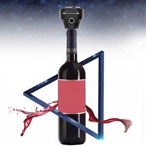 Image 4 - Tragbare 2 in 1 Ultraschall Elektrische Hohe Geschwindigkeit Oxygenation Wein Decanter & Bier Bubbler für Rotwein Konserven bier Im Freien Werkzeuge