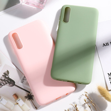 Candy Color Case for Samsung Galaxy A70 A60 A50 A40 A30 A20 A10 A20e Cases Coque Soft Silicone Cover