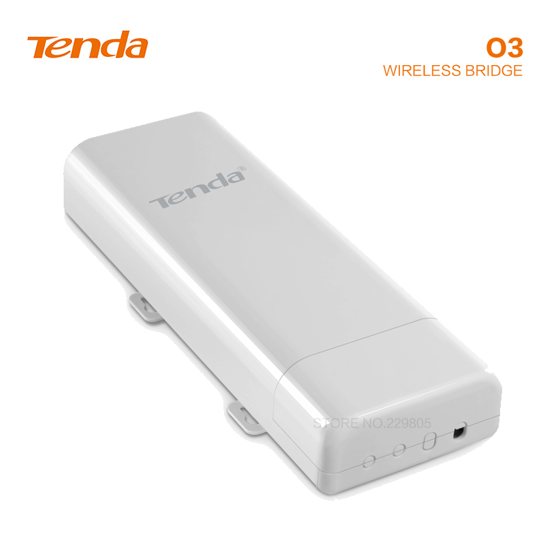 Tengda O3 2.4Ghz Point To Point Wireless Bridges 5Km Transmission Power Transmission Outdoor Elevator Monitoring AP Repeater