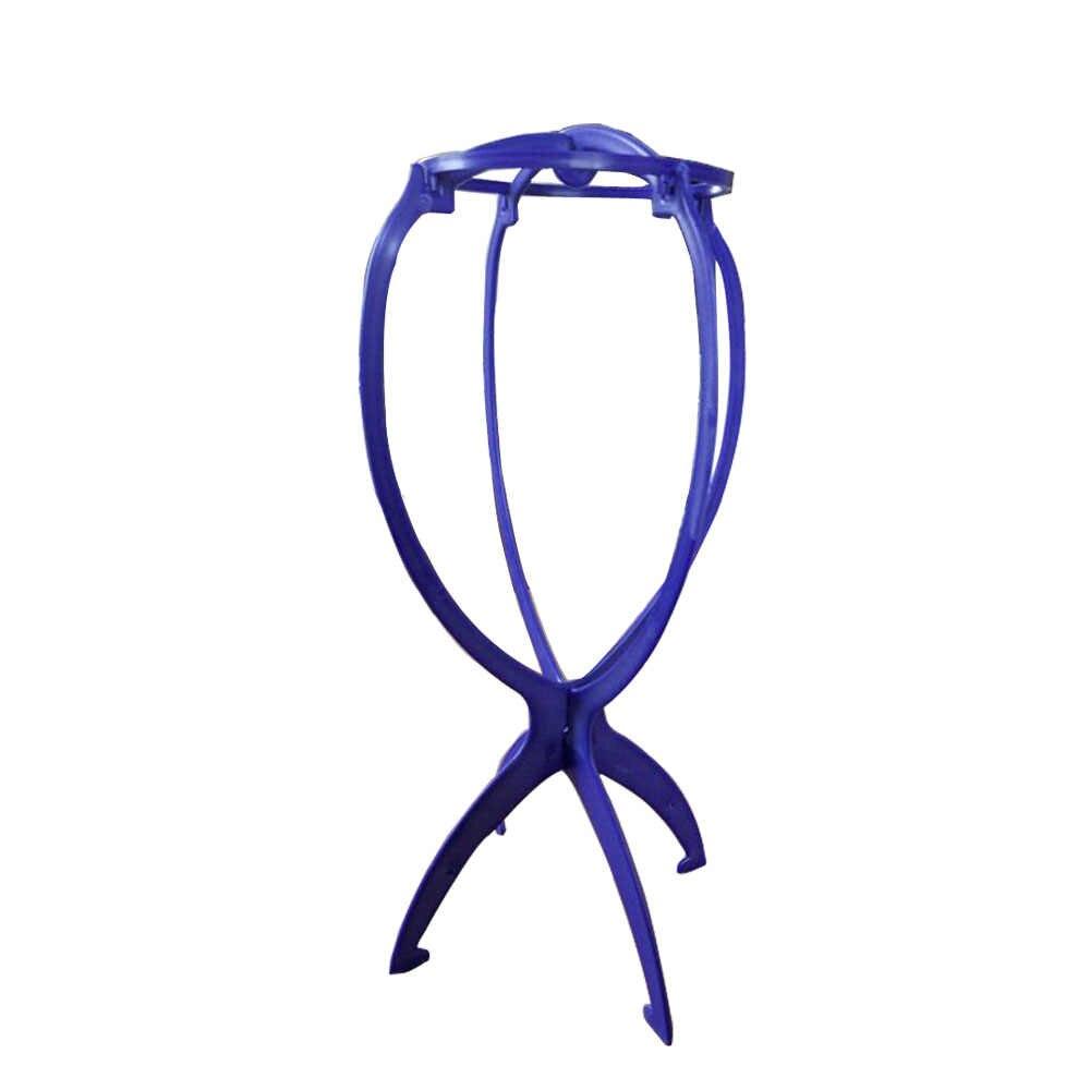 Nieuwe Plastic Pruik Stand Stabiel Duurzaam Houder Display Rack Voor Pruiken Staande 4 Kleuren Roze/Blace/Blauw/wit