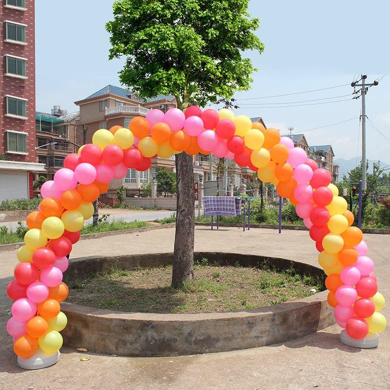 Three sizes Wedding Balloon Arch Kit and Two Round Base, Round Foil ...