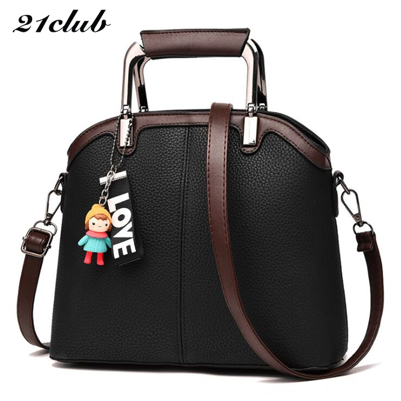 21club brand casual women solid totes strap medium handbag hotsale lady party purse ssaffiano crossbody messenger shoulder bags