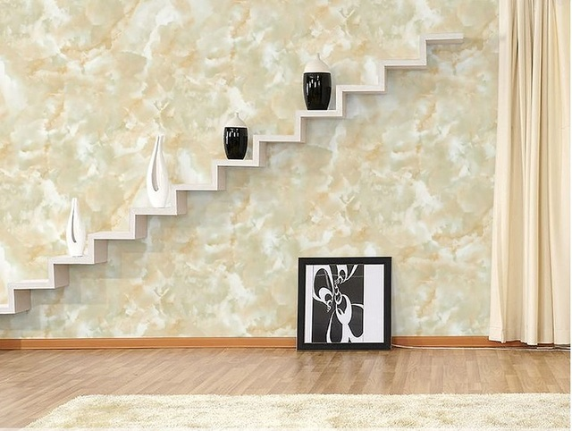 53*1000CM Meters Marble Wallpaper Rolls Wall Paper Wall Mural (Not Self-adhesive) Natural Stone