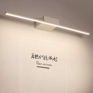 Image 2 - New Arrival Hot Black/White 400/600/800/1000/1200mm Led bathroom mirror lights Modern makeup dressing bathroom led mirror lamp
