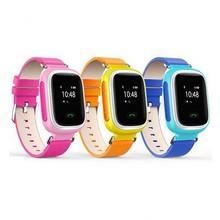2017 new kid gps q60 smart watch reloj sos llamada Dispositivo Localizador Localizador Rastreador de Seguros para Niños Contra la Pérdida de Monitor