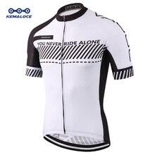 Maillot de cyclisme de route pour hommes à séchage rapide, tissu blanc, 3xl, vente en gros, 2019