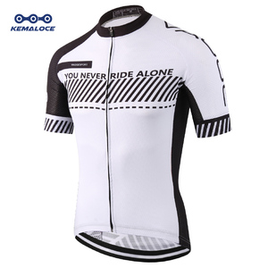 Image 1 - Wholesale 2019 3xl Road Uv Cycling Jersey Men Quick Dry Bicycle China Cycles Top MTB Dry Racing White Fit Blank Bike Shirts