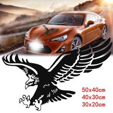 Auto SUV Eagle Reflecterende Decal Vinyl Stickers Deur Hood Cover Sticker Buitenkant(China)