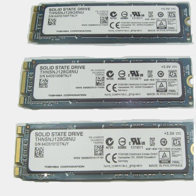 TOSHIHA 128 ГБ NGFF M.2 SSD Solid State Disk Тонкий Портативный Бизнес-Магазин Новый A19nm MLCGrain Высокое Качество для ноутбук