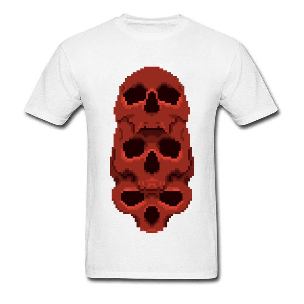 64aa4b133 Dark Souls Pixel Skull Men T Shirts Men's Fashion Sea Of Thieves Skull  Tshirt Harajuku 3D Novelty Top Brand Summer Tee Shirts-in T-Shirts from  Men's ...