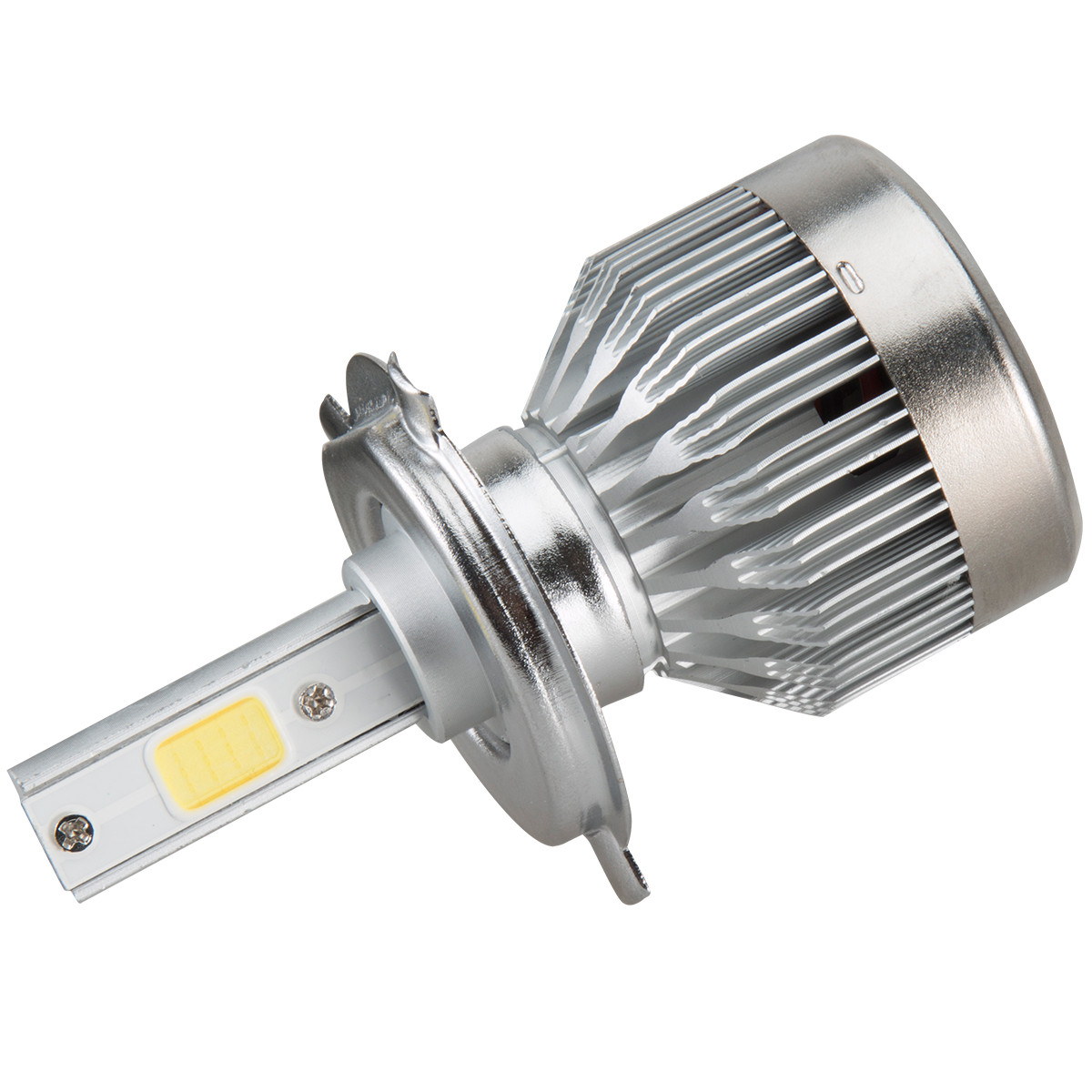 Car Headlights 2x H4 LED Light Headlight Vehicle Car Hi/Lo Beam Bulb Kit 6000k 60W 6000LM White Car Styling @016