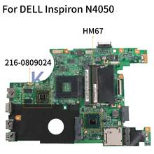 Kocoqin Motherboard Laptop Dell Inspiron 15R N4050 Vostro 1450 V1450 Mainboard CN-0XJ7CC 0XJ7CC 10315-1 HM67 216- 0809024(China)