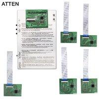 ATTEN New LCD display & Touch screen Digitador painel placa de teste Testador para iphone 4 4S 5 5S 5C 6 6 Tela de Toque mais Caixa Tester