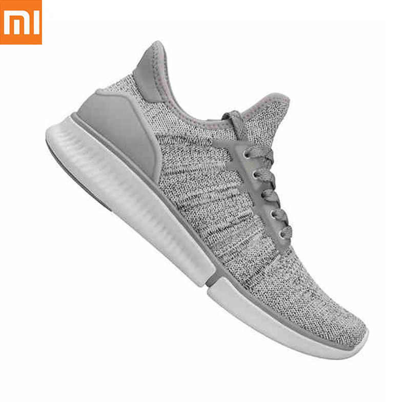Xiaomi Mijia Original Smart Running Shoes Sports Professional Fashion IP67 Waterproof Support Smart Chip Not Including Drop ship