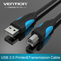 Vention High Speed USB 2.0 Type A to B Male to Male Scanner Printer Cable Sync Data Charging Cord 1m 1.5m 2m 3m 5m