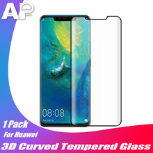 Acespower Tempered Glass for Huawei P20 P30 Mate 9 20 Pro Curved Case Friendly Screen Protector Cell Phone Glass Film