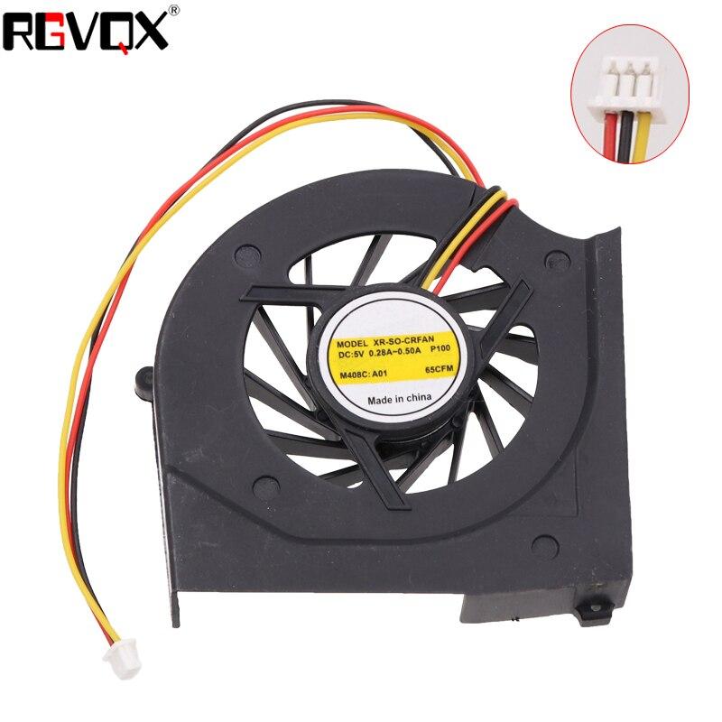 Marca NEW Laptop Cooling Fan para SONY VGN-CR (NOVO) CPU Refrigerador/Refrigerador do Radiador UDQFLZR02FQU (DC5V 0.20A)