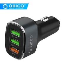 ORICO 38W 3 USB Quick Charge QC 3.0 Car Charger For iPhone F