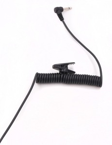 Image 4 - 3.5mm Police Listen Only Acoustic Tube Earpiece with One Pair Medium Earmolds for Speaker Mics