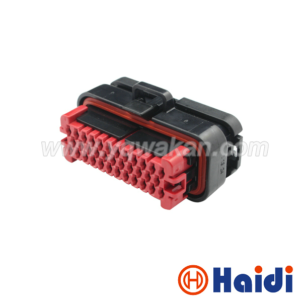 Free shipping 1set tyco 35pin ECU Flame retardant New energy connector auto electrical 35 way cable connector 776164-1 free shipping 1sets jae male 26pin plug for mx23a26sf1 electrical 26pin 26way ecu auto computer pin connector mx23a26nf1