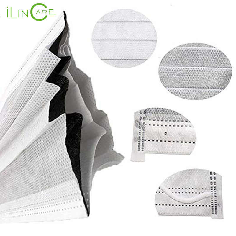 activated carbon disposable face mask