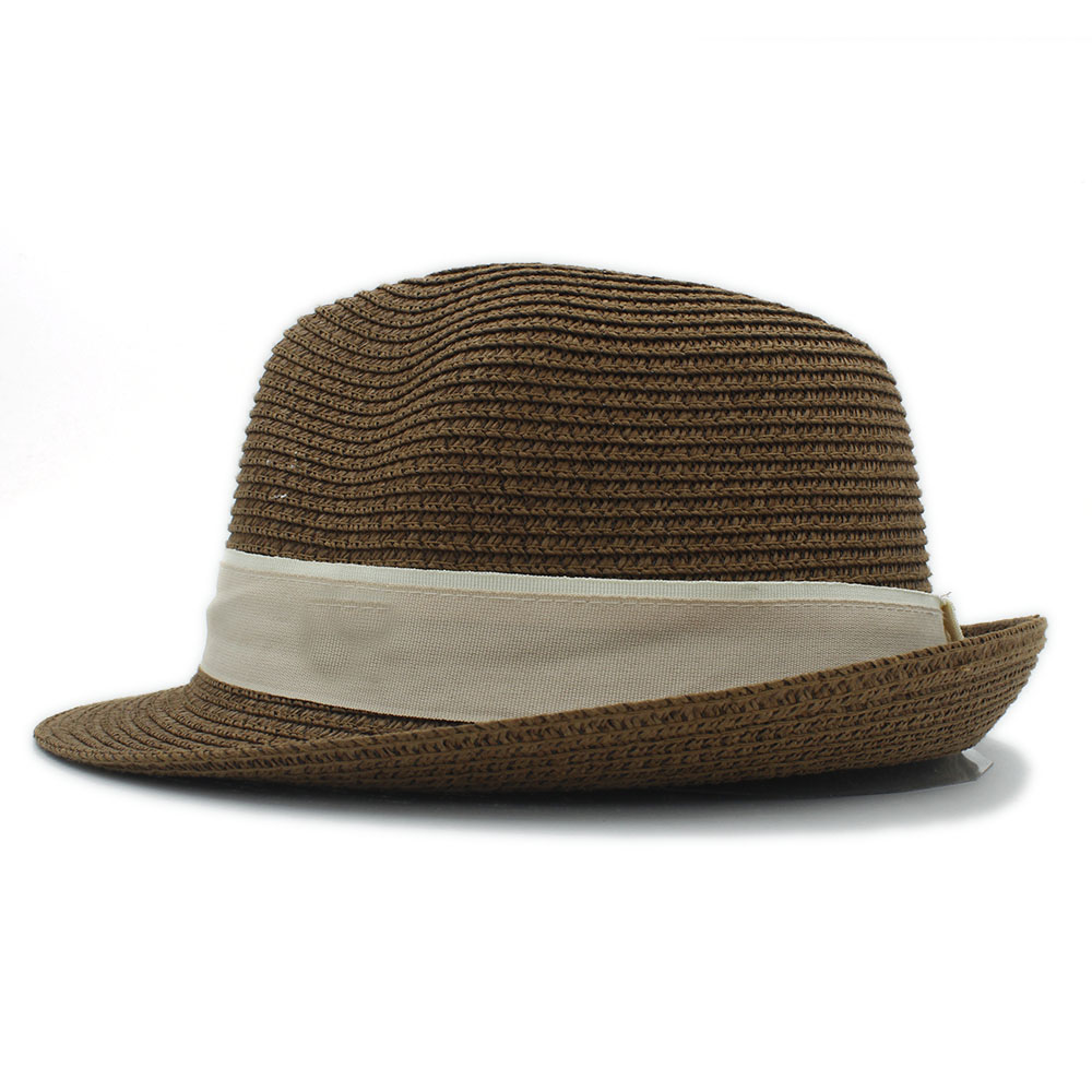 British Style Maison Michel panama hat Men Women Fedorashat jazz hat  contracted Straw summer beach hat gangste Hat In Stock-in Sun Hats from  Apparel ... f9c13ca1e28b