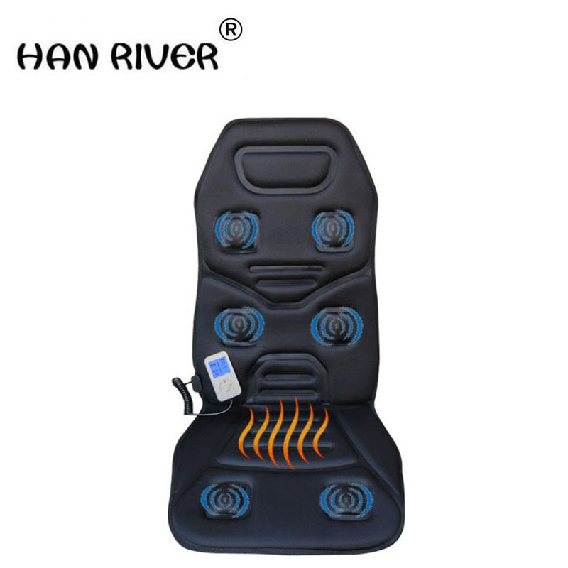HANRIVER Winter heating massage cushion car mat, car office chair cushion automotive electrical heating common pad hanriver massager cushion for shakti