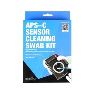 Image 5 - Kamera ve Fotoğraf CCD/CMOS Temizleme Çubuğu Takım Elbise VSGO Sensörü Temizleme Kiti DDR 16 için APS C DSLR Sensör Temizleme