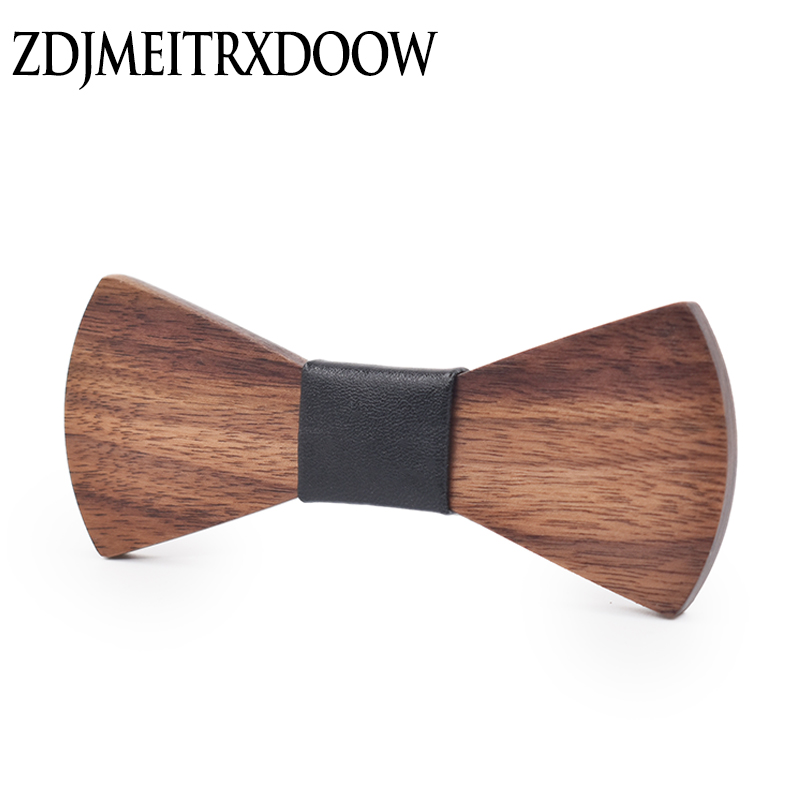 New 2016 Fashion design Personality Wooden Bow Tie Butterfly Ties For Men Jewelry Accessories Christmas present  Wood Bow tie