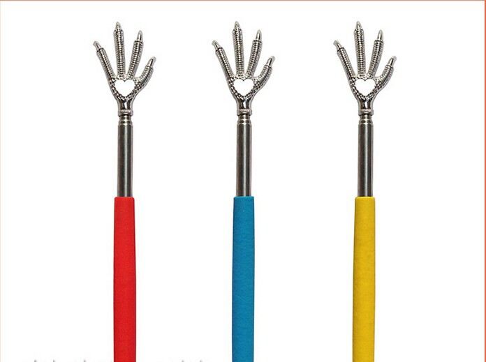 Shanghai Pins Tech.  Trading Co., Ltd. Convenient Claw Telescopic Ultimate Stainless Steel Back Scratcher extendible