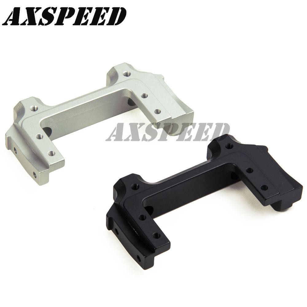 Alloy Front beam bracket Servo Relocation Bumper Mount Sto?stange for SCX10 II XJ Cherokee AX90046
