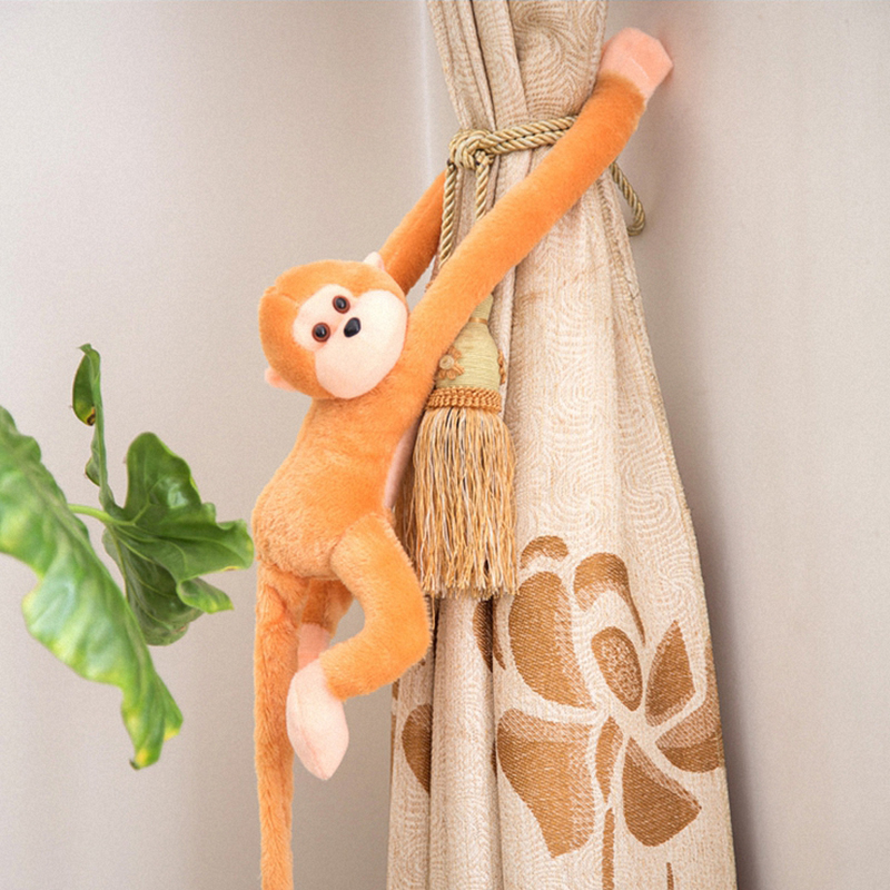 Kids Soft Plush Toys Cute Colorful Long Arm Monkey Stuffed Animal Doll Gifts New lace panel sheer mesh skirt